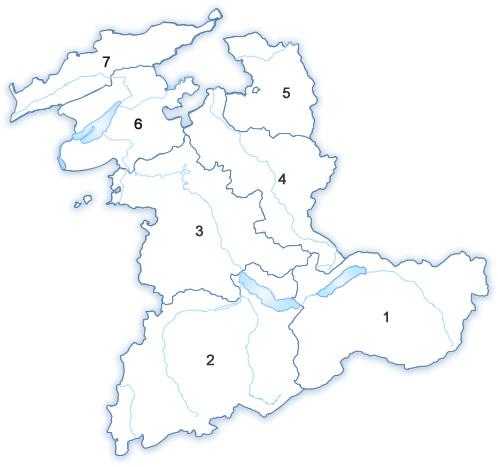 Karte Pachtgewässer